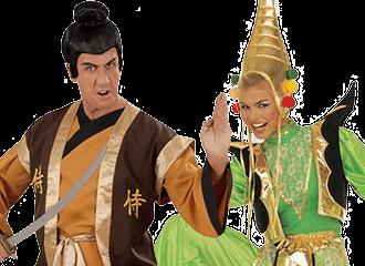 Aziatisch Indisch & Ninja