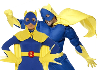 Bananaman Kostuums