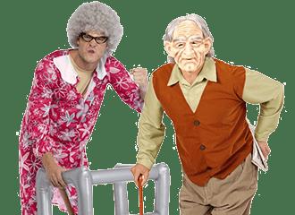 Bejaarden Kleding