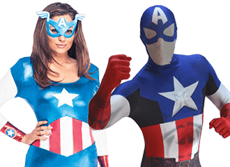 Captain America Kostuums
