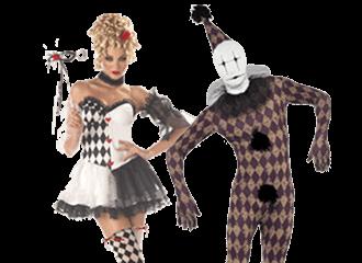 Harlequin Kostuums