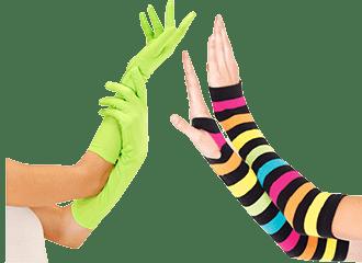 Neon Handschoenen