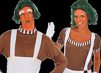 Oompa-Loompa Kostuums