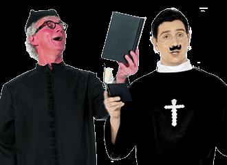 Predikant Kostuums