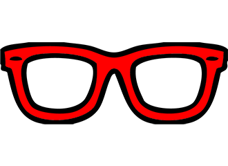 Rode Brillen