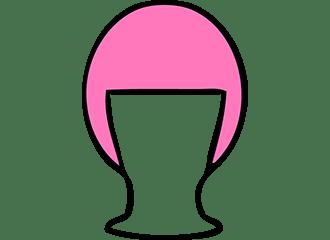 Roze Bob Pruiken