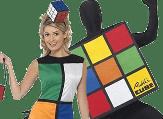 Rubiks Kubus Kostuums