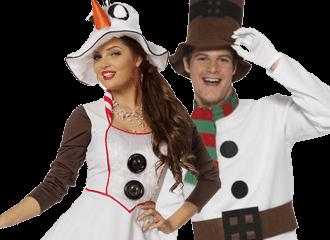 Sneeuwman Kostuums