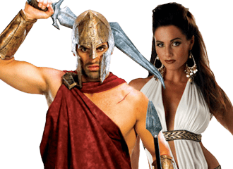 Spartacus Kostuums