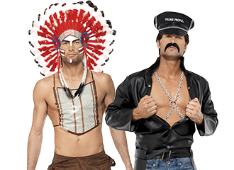 Village People Kostuums