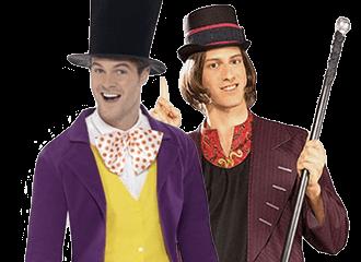 Willy Wonka Kostuums