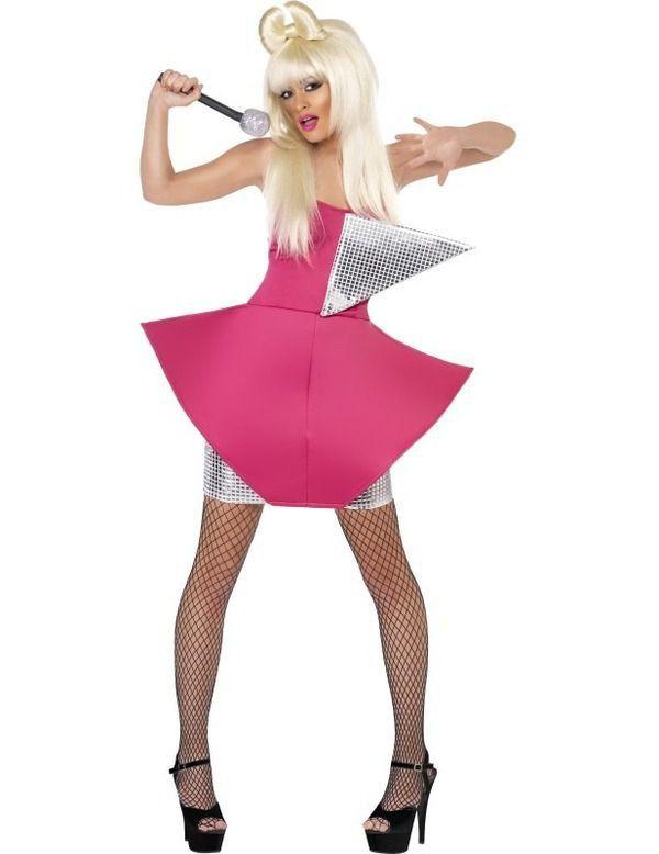 Lady Gone Gaga Kostuum Vrouw