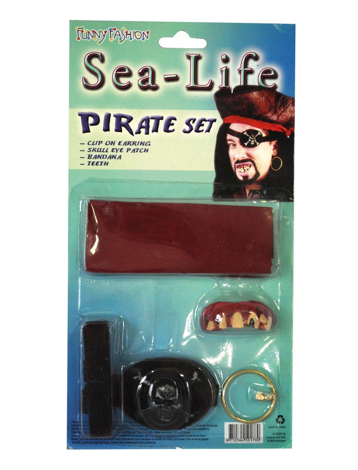Piraten Set 4 Delig Rum Island
