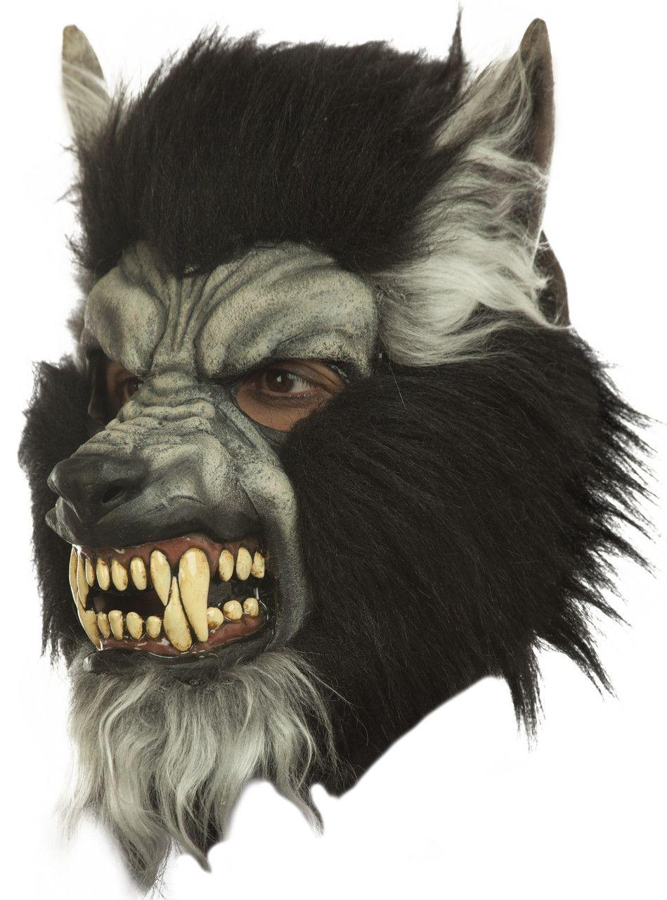 Masker Weerwolf Met Goed Ontwikkelde Hoektanden