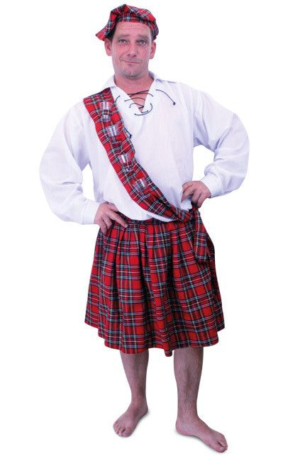 Schotse De Luxe Set Man Kostuum