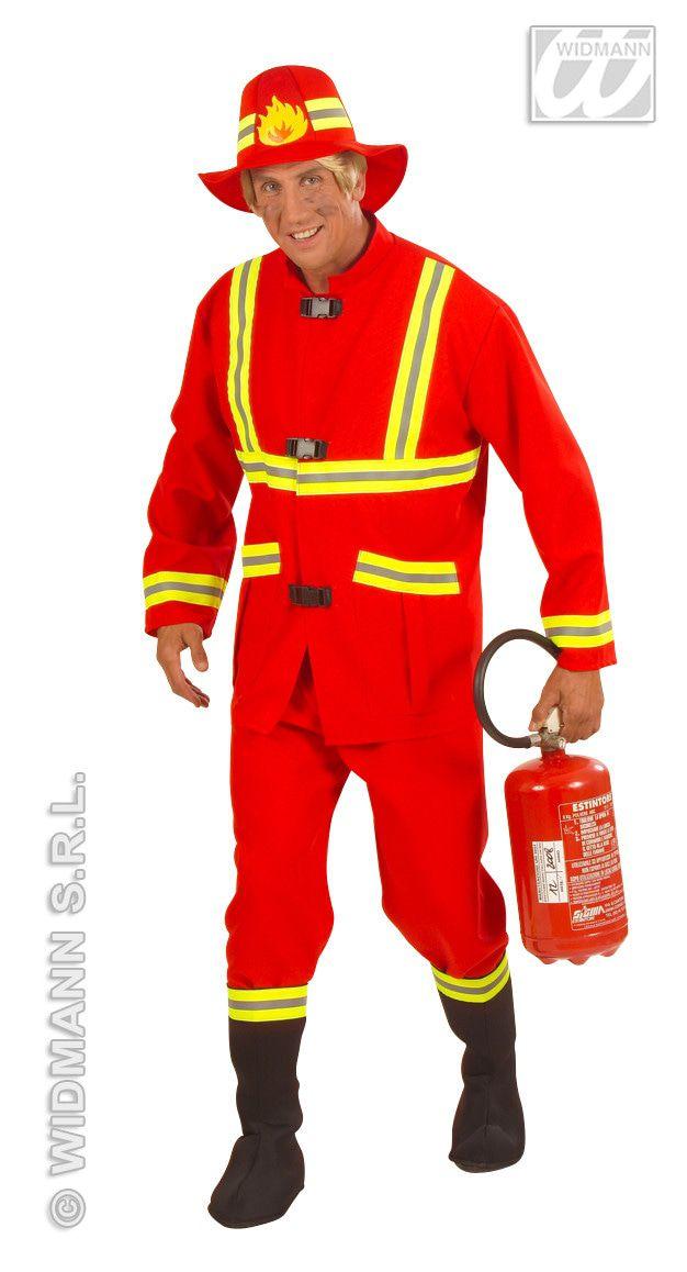 Stoere Brandweerman, Fiberoptic Kostuum