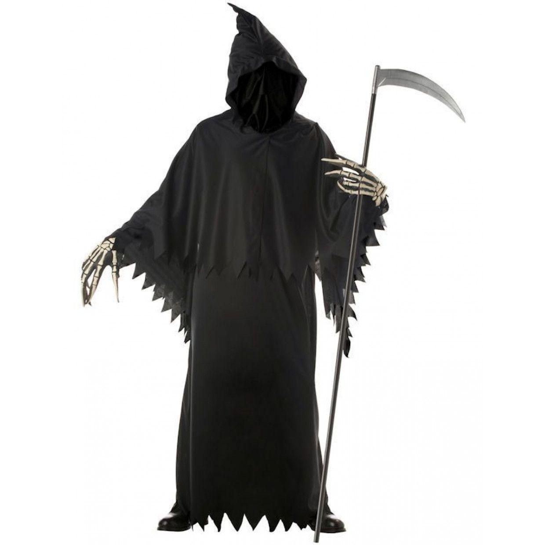 Halloween Kostuum Magere Hein.Luxe Magere Hein Komt Je Halen Man Kostuum