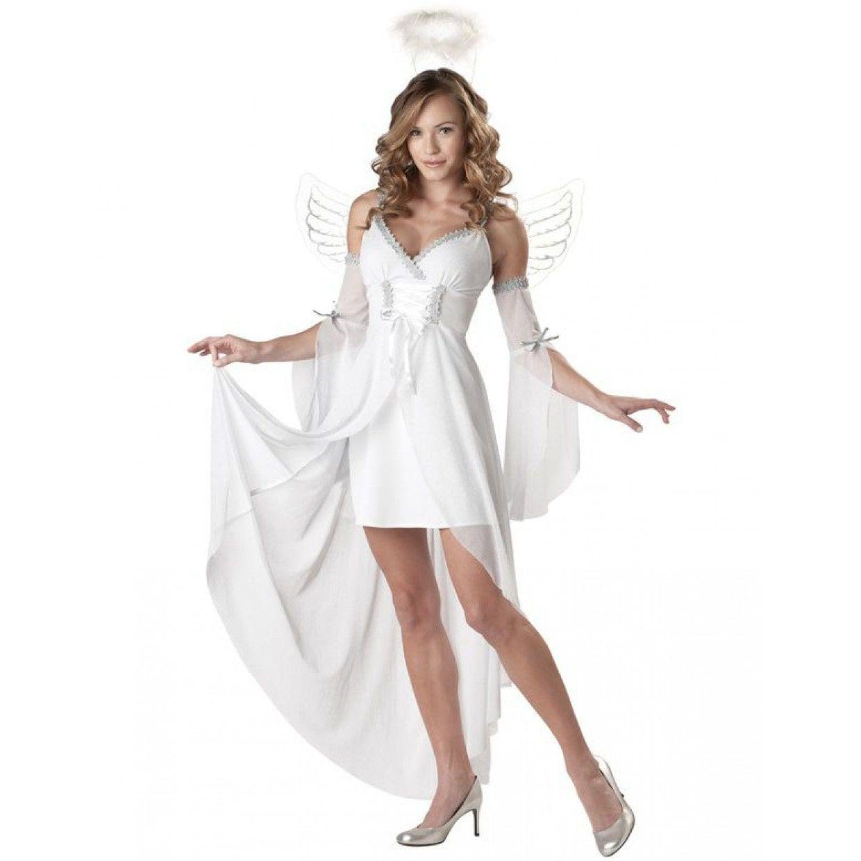 Engel Uit De Hemel Vrouw Kostuum Die Vind Je Bij Feestwinkel Xl