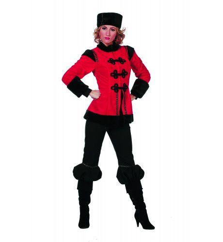 62a81e5685e Polka Kozakdame De Luxe Vrouw Kostuum