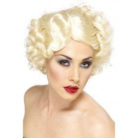 Hollywood Icoon Blonde Pruik
