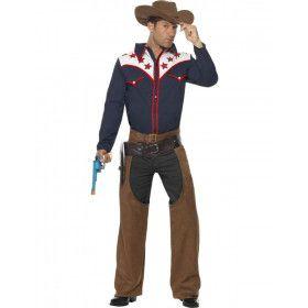 Cowboypak Man Kostuum