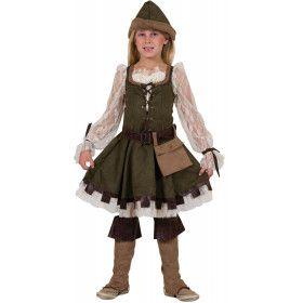 Robin Hood De Armenhelper Jurk Meisje