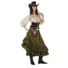 Winnie Winchester Wilde Westen Wisconsin Cowgirl Vrouw Kostuum