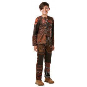 Heldhaftige Drakentrainer Hiccup Horrendous Jongen Kostuum