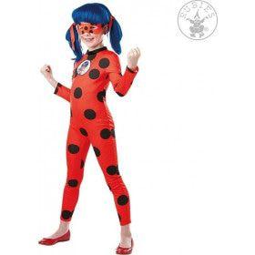 Superduperheldin Miraculous Ladybug Meisje Kostuum