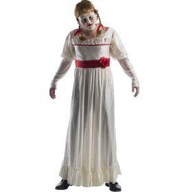 Niet Mee Te Spelen Pop Annabelle Vrouw Kostuum