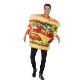 Hamburger Kostuum Man