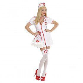 Spannende Verpleegster Luxe Kostuum Vrouw