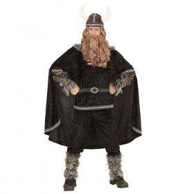 Zwart Ivar De Viking Man / Jongen Kostuum
