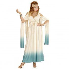 Mythische Koningin Van Atlantis Vrouw Kostuum