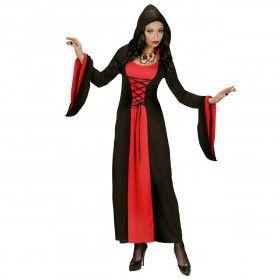 Elegante Gothische Dame Kostuum