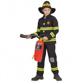 Nypd Brandweer Zwart Jongen Kostuum
