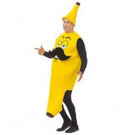 Lekker Geel Hapje Mister Banana Kostuum