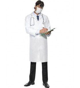 Goedkoop Dokter Labaratoriumjas En Masker Man Kostuum