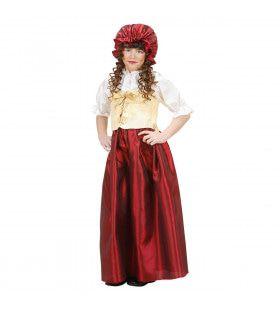 Boeren Meisje Drenthe Middeleeuwen Kostuum