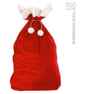 Kerstman Fluwelen Zak 60x100 Centimeter