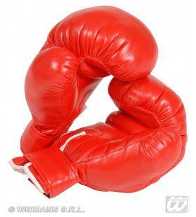 Bokshandschoenen Rood Volwassen
