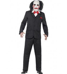 Saw Jigsaw De Horrorclown Man Kostuum