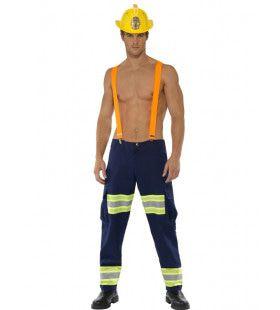 Brandweer Uit Jouw Dromen Man Kostuum