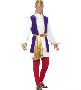Koninklijke Arabische Man Kostuum