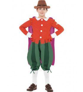 Horrible Histories Guy Fawkes De Engelse Strijder Jongen Kostuum