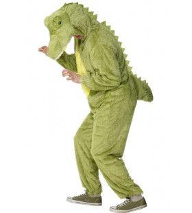 Krokodil Volwassen Kostuum