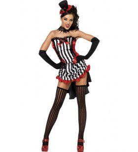 Wild One Burlesque Vrouw Kostuum