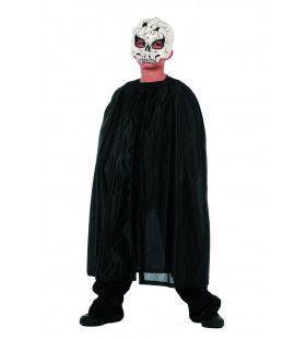 Mooie Zwarte Cape Frankenstein Jongen Kostuum