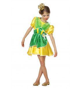 Koninklijke Kikkerprinses Meisje Kostuum