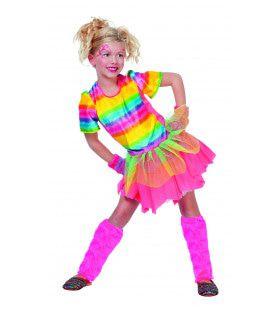Modanna Rainbow Girl Meisje Kostuum
